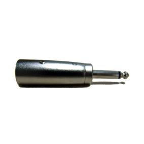 Adaptador Canon Macho A Plug 6.5 Macho Mono Estereo