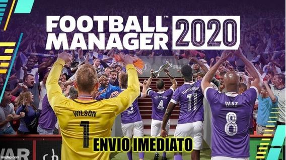 Football Manager 2020 + Editor - Envio Imediato
