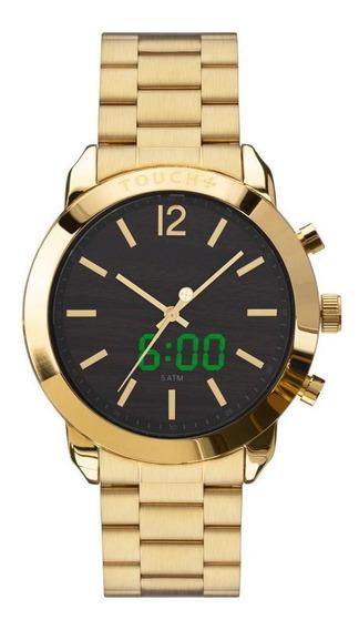 Relógio Touch Unissex Dourado Twy121e6ak/4p