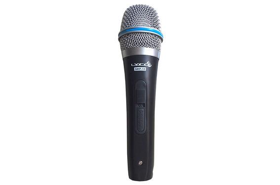 Microfone Dinâmico Unidirecional Com Fio Lyco Smp-10/ Smp-20