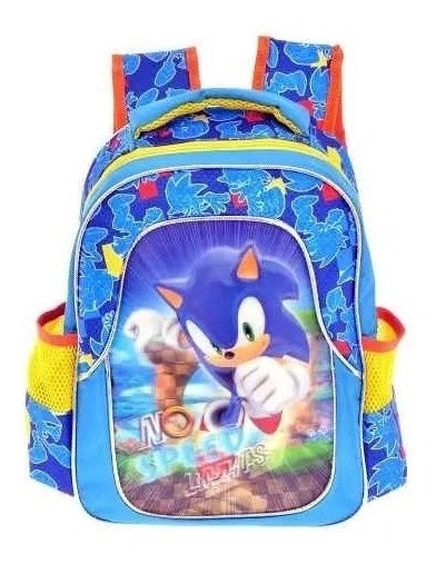 Mochila Sonic Kinder Backpack Tz940