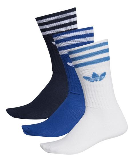 Medias adidas Originals Moda Solid Crew Sock Bl/fr