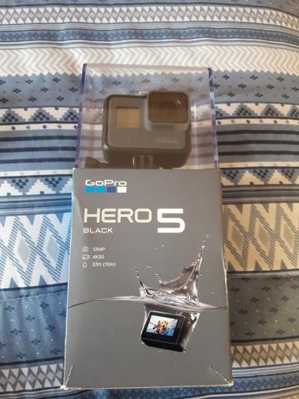 Go Pro Hero 5 Black Com Duas Baterias E Acessórios.