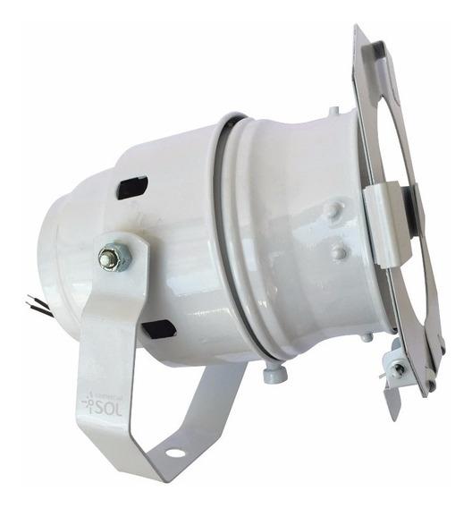 11x Refletor Halógeno Bipartido Branco Ar111 Spot Industrial