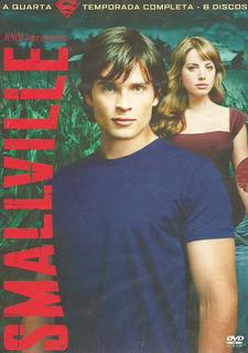 Dvd Box - Smallville 4ª Temp. Completa (dubl/leg/lacrado)