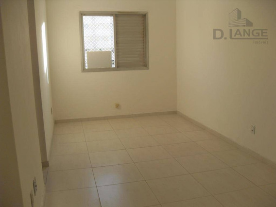 Apartamento Com 1 Dormitório Para Alugar, 45 M² Por R$ 650,00/mês - Centro - Campinas/sp - Ap13792