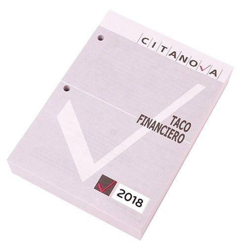 Taco Financiero Citanova 2021 - Agenda Para Escritorio