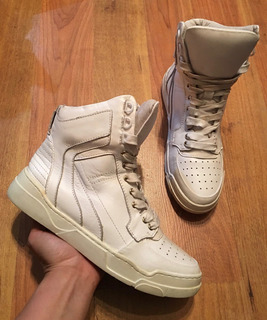 Padrisimos Tenis Givenchy Tyson High Top Blancos 24!!