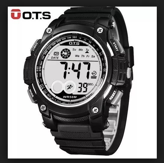 Relógio Digital Militar Ots Esportivo Natação Pronta Entrega