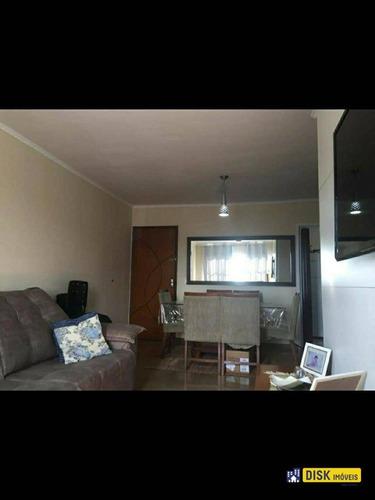 Apartamento Com 3 Dormitórios, 90 M² - Venda Por R$ 325.000,00 Ou Aluguel Por R$ 2.540,00/mês - Parque Terra Nova - São Bernardo Do Campo/sp - Ap0258