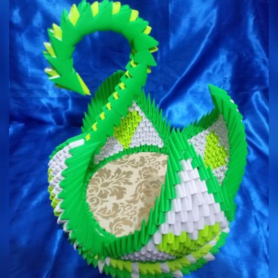 Cisne De Papel (origami 3d)