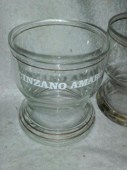 Antiguo Vaso Coleccionable Cinzano Amaro Precio Por Unidad