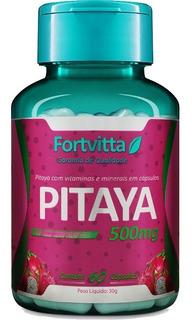 Pitaya Koubo Fortvitta 500mg 60 Capsulas - Promoção