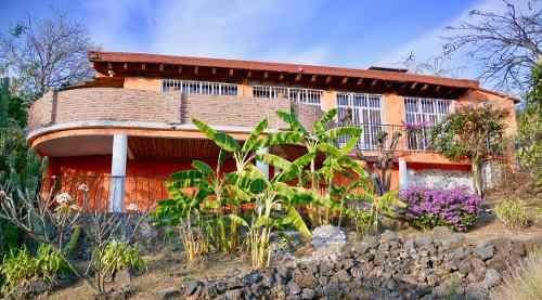 Casas Tepoztlán - Bienes Raíces - Casa Naranja Y Azul