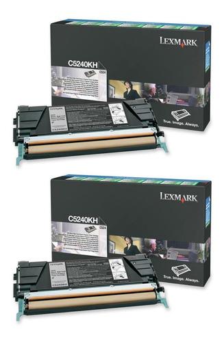 Imagen 1 de 5 de Toner Lexmark C5240kh Negro Nuevo Original Oferta!!!