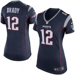 Camisa Futebol Americano Feminina N. E. Patriots Tom Brady