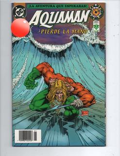 Comic Aquaman Pierde La Mano Vid.