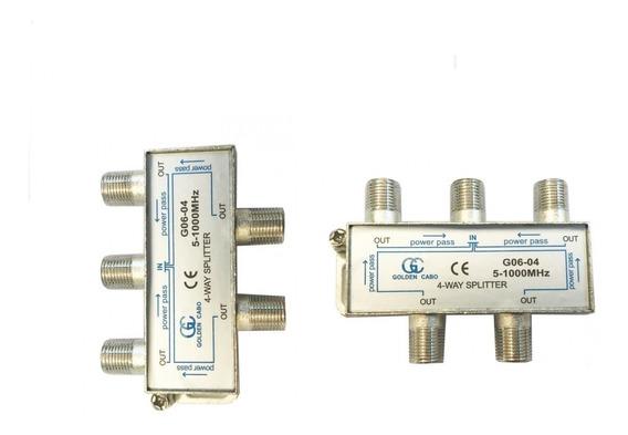 Divisor Splitter Para Antena 1x4 Gc 5~1000 Mhz Para Tv