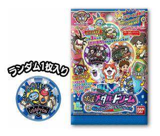 X 3 Sobres Medallas Yokai Watch Dream Hell Vol 2