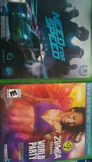 Zumba Fitness Y Need For Speed Xbox One