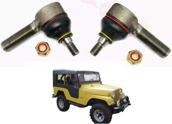 Par Terminal De Direção - Jeep Willys Rural F75