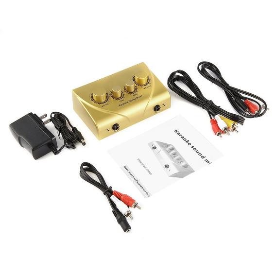 Karaoke Mezclador Sonar Sistema Audio Máquina Mini Digital