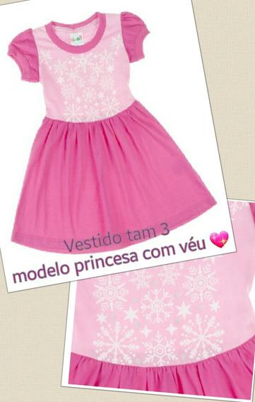 Vestidos De Princesa Tam 2 E 3
