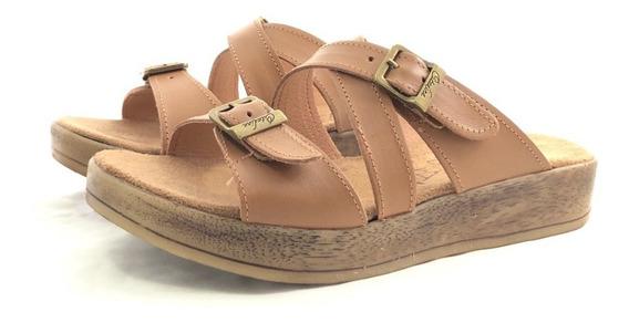 Citadina Jesucrista Sandalia Cuero El Mercado De Zapatos!!!