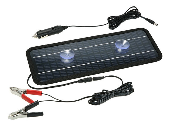 Carregador Bateria Portátil Solar Barco Carro Poder Solar Pa