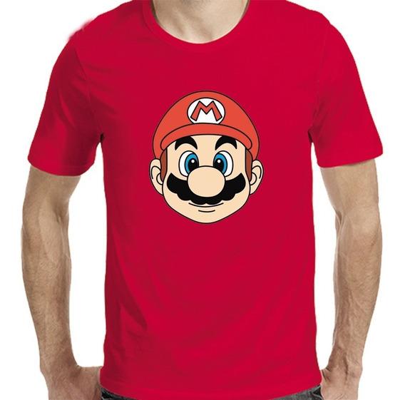 Remeras Mario Bross Nintendo Cara |de Hoy No Pasa| 11