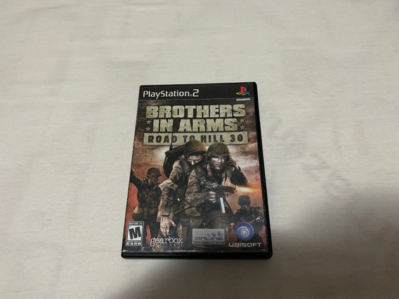 Brothers In Arms Road To Hill 30 Ps2 Original Completo