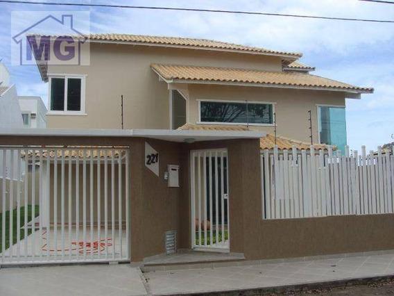 Casa Residencial À Venda, Mirante Da Lagoa, Macaé. - Ca0076