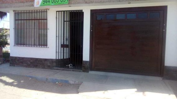 Venta Departamento De 128mt, 1er Piso,esquina Urb Los Nardos