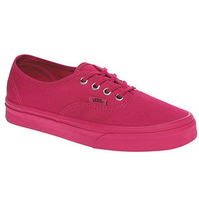 Tenis Vans Authentic Primary Vn-0a38emmq0 Fucsia Dama Pv
