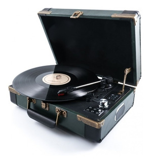 Bandeja Tocadiscos Bluetooth Vintage Gpo Retro Ambassador