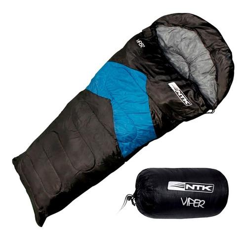 Imagem 1 de 7 de Saco Térmico De Dormir Viper Nautika Capuz De Proteção 5°