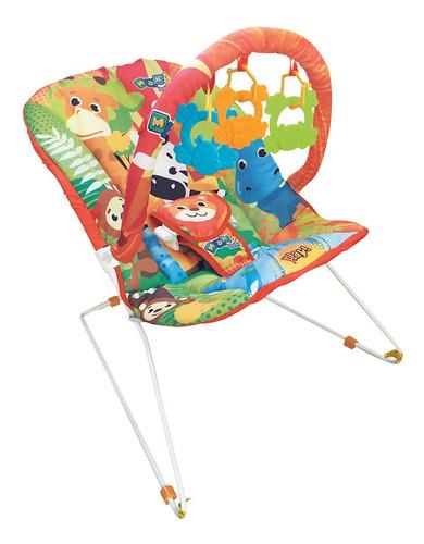 Cadeira Cadeirinha De Descanso Bebê Musical Maxi Baby Savana