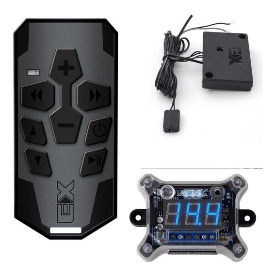 Controle Longa Distância + Voltímetro Digital Sequenciador