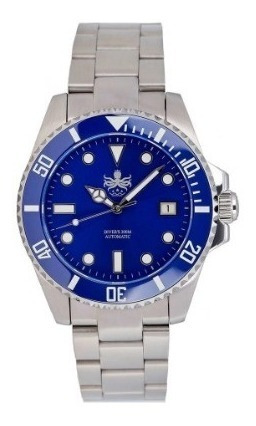 Relógio Phoibos Diver Azul Automático Cerâmico Submariner