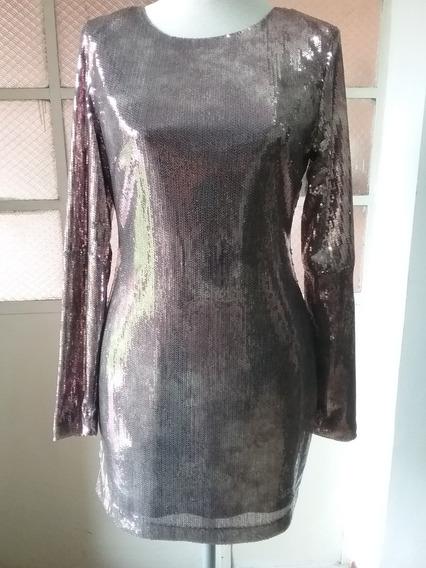 Vestido De Lentejuelas Importado Usa