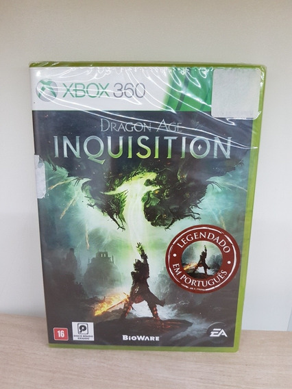 Dragon Age Inquisition Xbox 360 Legendado Novo Lacrado Fisic