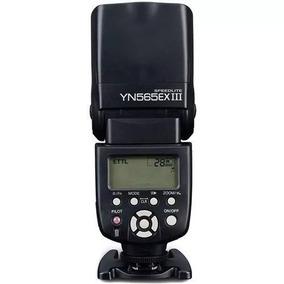 Flash Yongnuo Speedlite P/câmera Canon Ttl - Yn565ex Iii