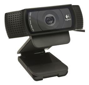 Webcam Logitech C920 Pro Camera Full Hd 1080p 15mp Streaming
