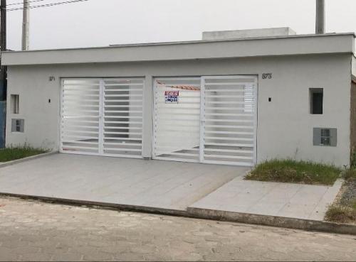 Casa Para Financiar Lado Praia - Rua Pavimentada