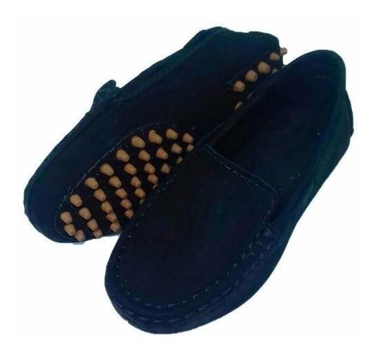 Kit 2 Sapatos Polo Menino Mocassim Solado Antiderrapante