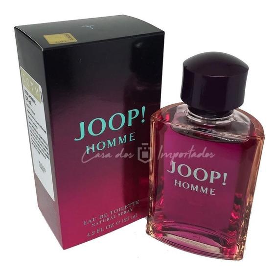 Joop Homme 125ml Masculino | Original + Amostra De Brinde