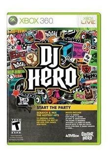 Juego Dj Hero Xbox 360 Usado