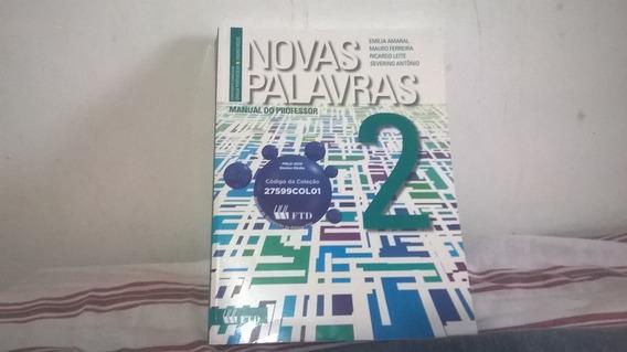 Português Novas Palavras 2 Do Professor Com Solução