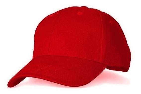 Gorras Rojas Acrílicas Para Bordar (tienda Fisica)