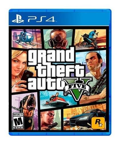 Imagen 1 de 1 de Gta V Premium Edition Juego Playstation 4